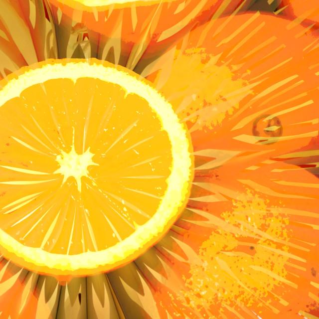 """Bursting With Vitamins"" stock image"