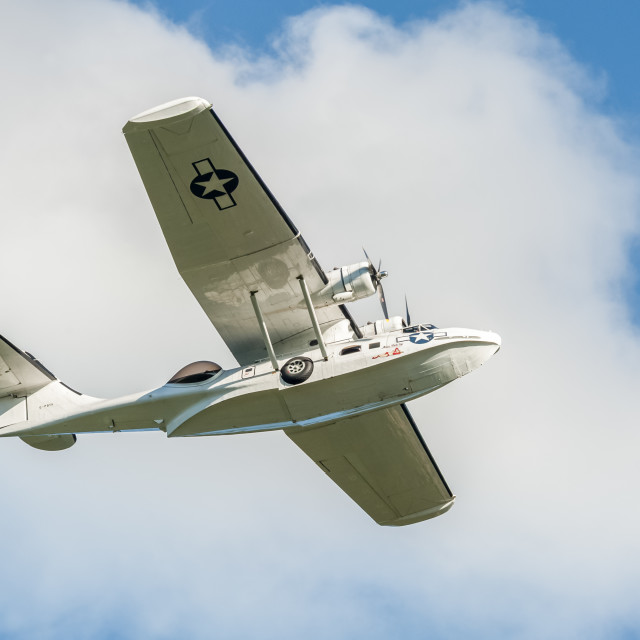 """Catalina flying boat"" stock image"