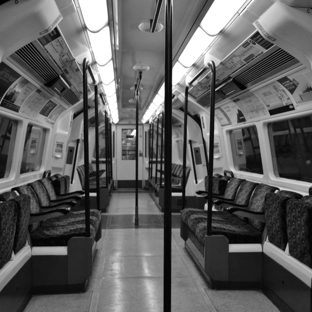 """Tube Train"" stock image"