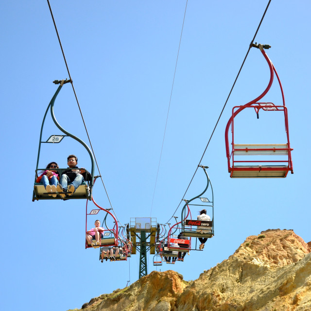 """Chair Lift"" stock image"