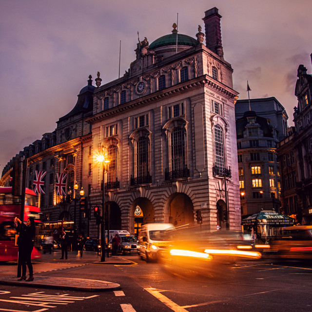 """Picadilly Circus"" stock image"