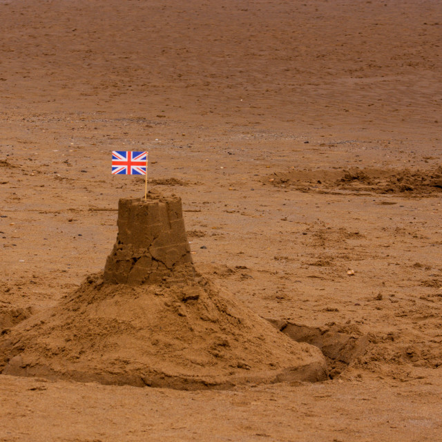 """Sandscastle"" stock image"