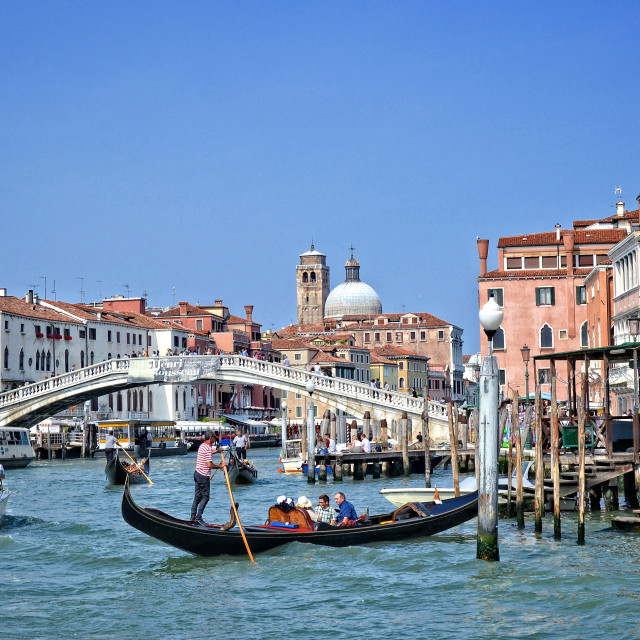 """Venice, the Grand Canal"" stock image"