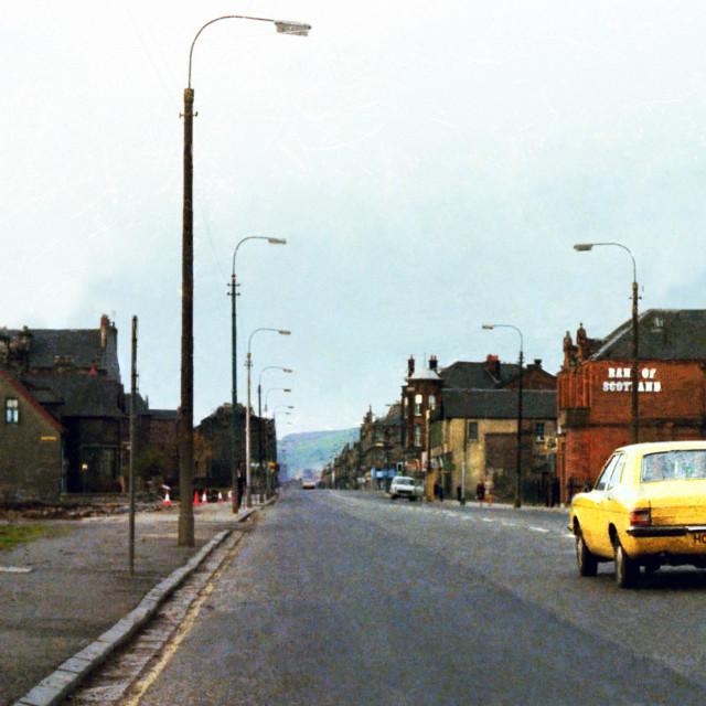 """Glasgow Road 0703"" stock image"