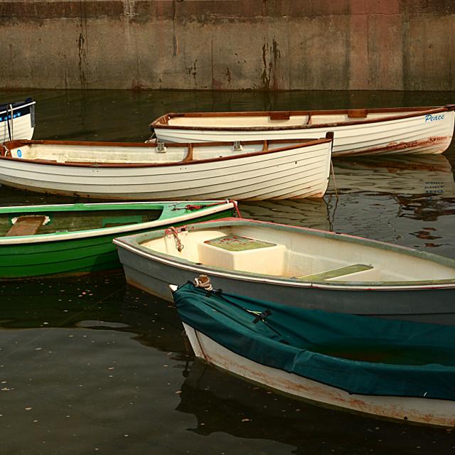 """""""Boat Still Life"""" stock image"""