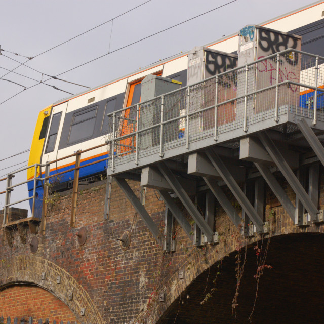 """Railway Line"" stock image"