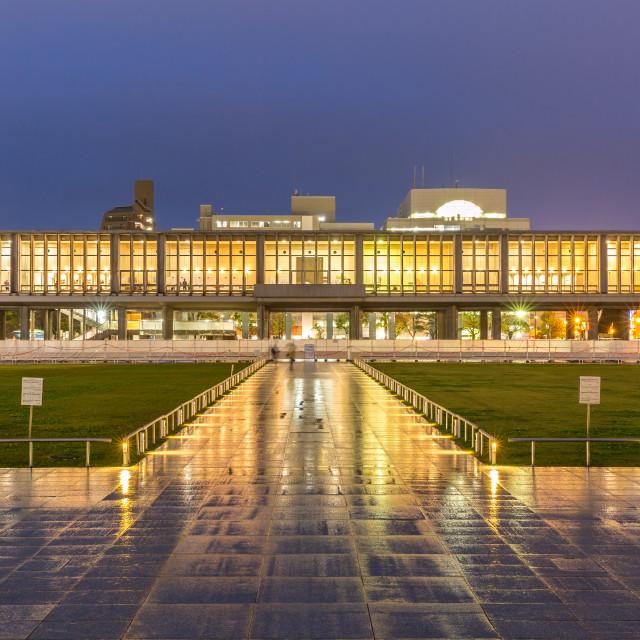 """Hiroshima Peace Memorial Museum"" stock image"