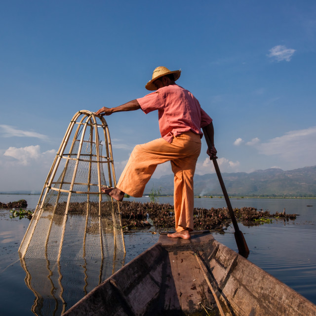 """Inle Lake, Myanmar"" stock image"