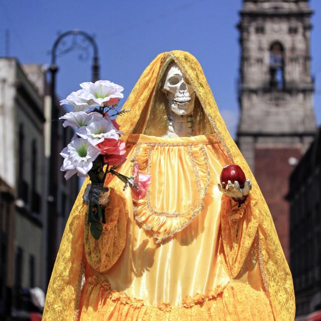 """Santa Muerte"" stock image"
