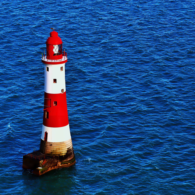 """""""Red Lighthouse"""" stock image"""