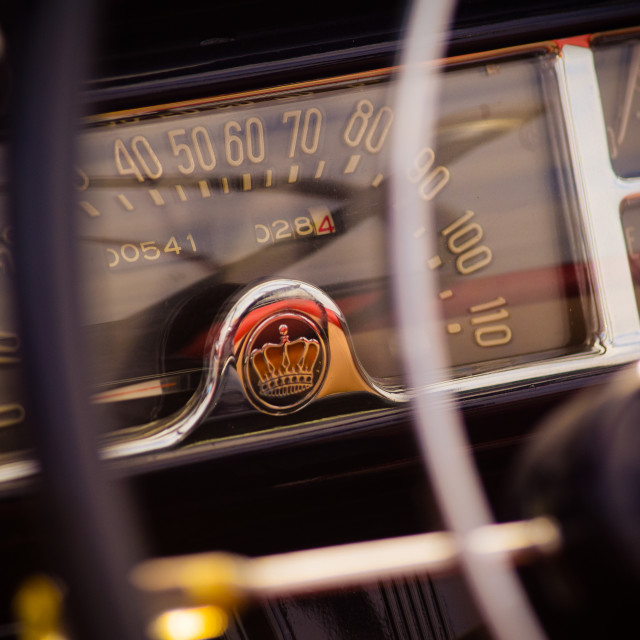 """Chevrolet Dashboard"" stock image"