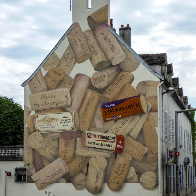 """Cork Mural"" stock image"