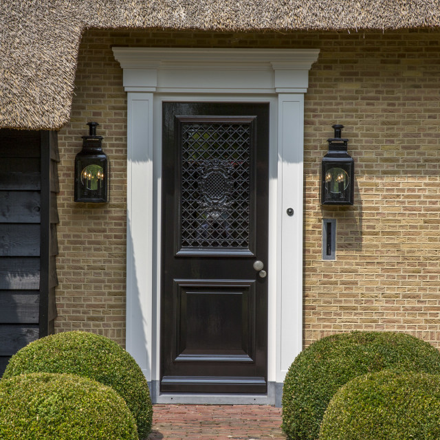 """Dutch Door"" stock image"
