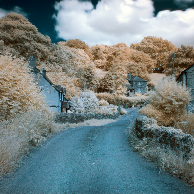 """""""Couch's Mill Infrared"""" stock image"""