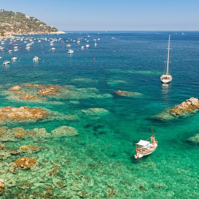 """Summer in Costa Brava"" stock image"