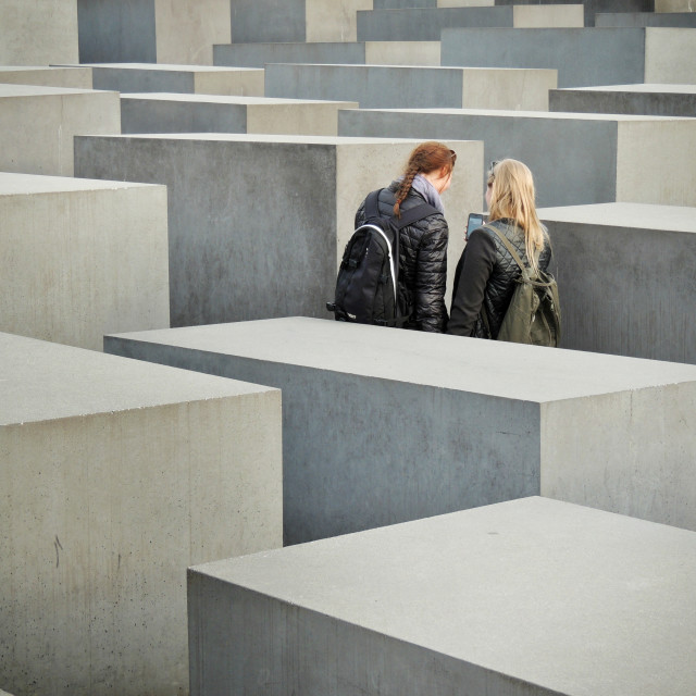 """""""An App For The Maze"""" stock image"""