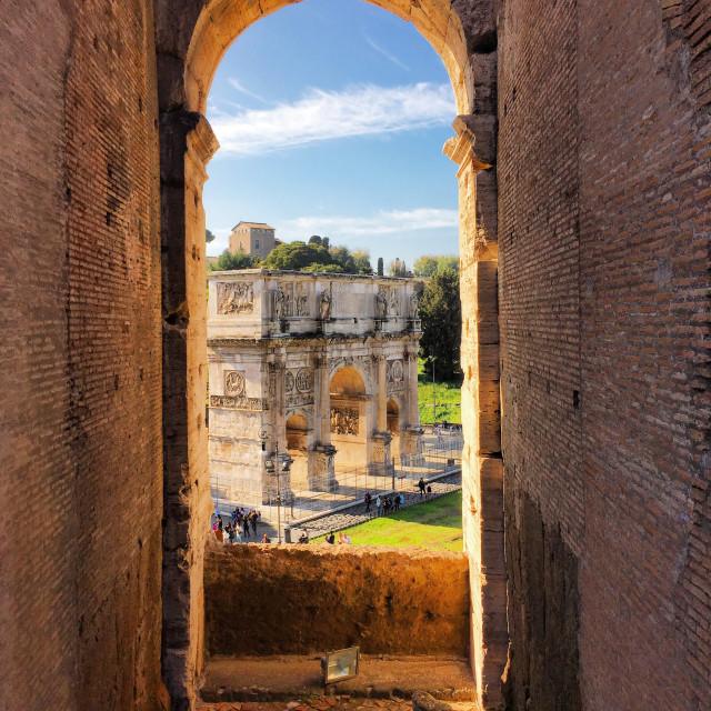 """Colosseum, Rome."" stock image"