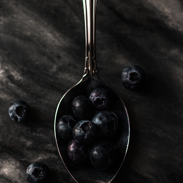 """A spoonful of"" stock image"