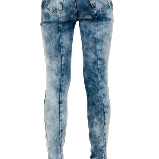 """Fashion pants on long slim legs"" stock image"