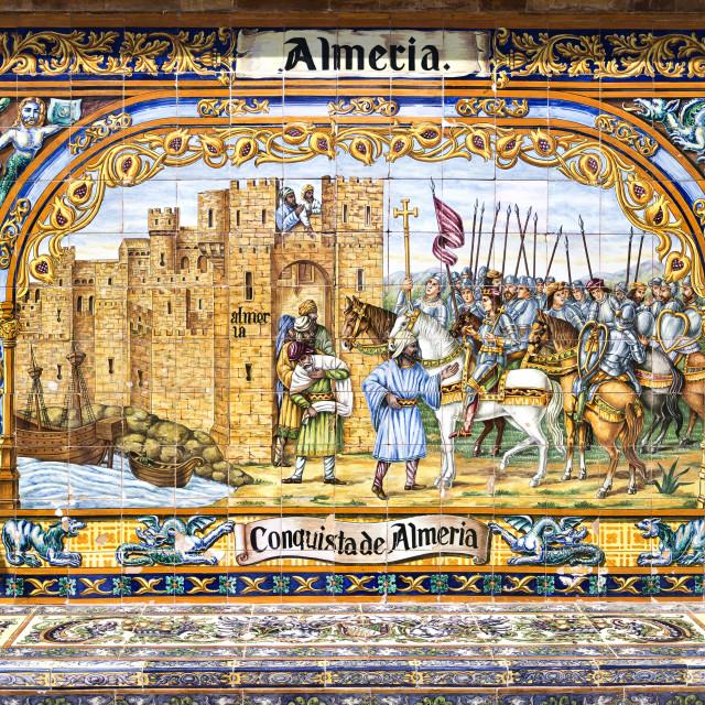"""Seville Spain Square"" stock image"