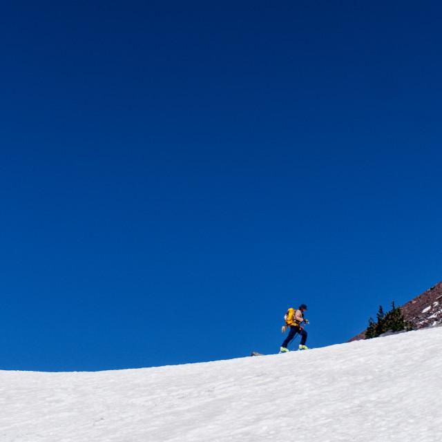 """hike along the ridge"" stock image"