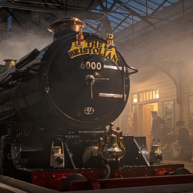 """GWR King Class"" stock image"