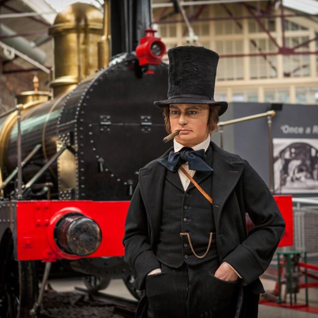 """""""Isambard Kingdom Brunel"""" stock image"""