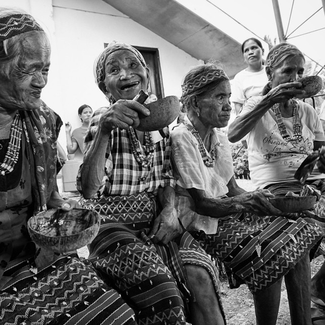 """Kalinga Tribe Elders"" stock image"