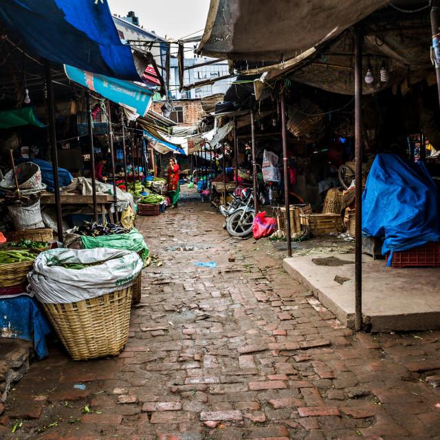 """Tukucha Market"" stock image"