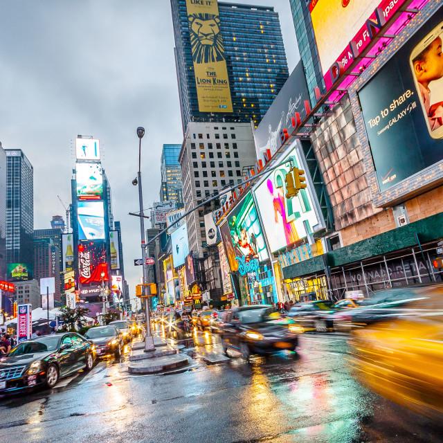 """New York life"" stock image"