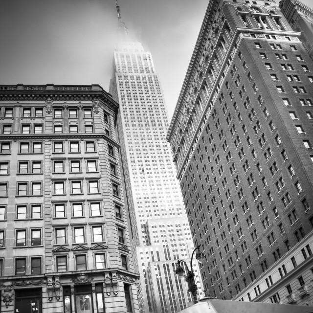 """Empire Estates, New York"" stock image"