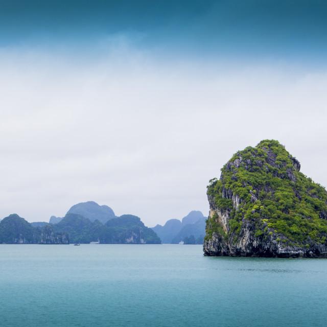 """HaLong Bay, Vietnam"" stock image"