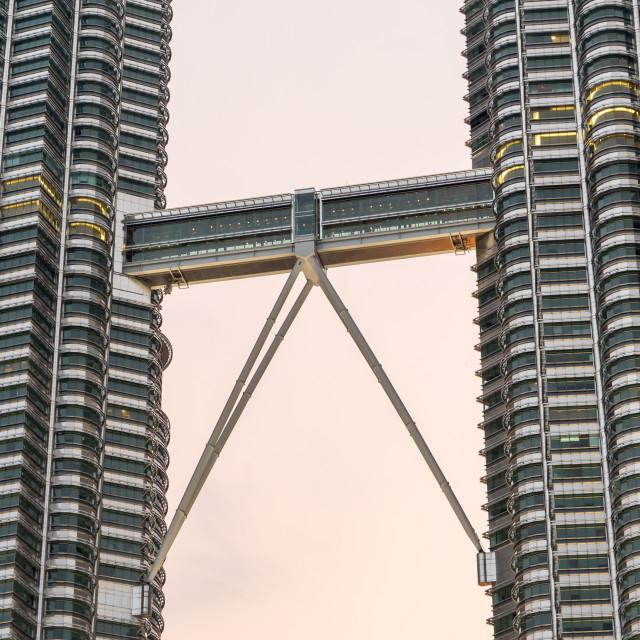 """""""Petronas Twin Towers"""" stock image"""