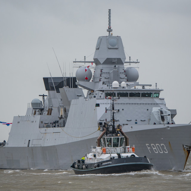"""HNLMS Tromp (F803)."" stock image"