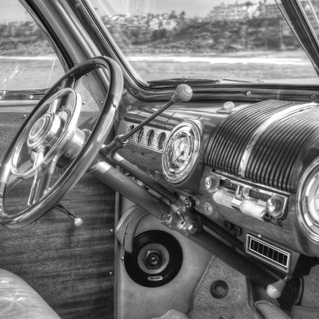 """Car Interior"" stock image"
