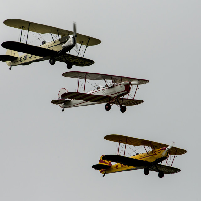 """Trio at Stow Maries 2016"" stock image"