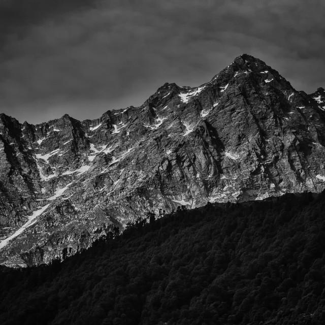 """Himalayas - Study 2"" stock image"