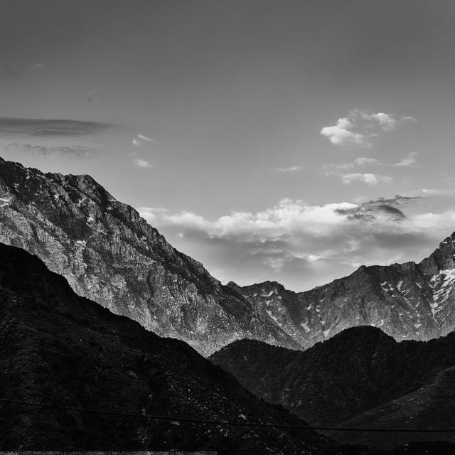 """Himalayas - Study 1"" stock image"