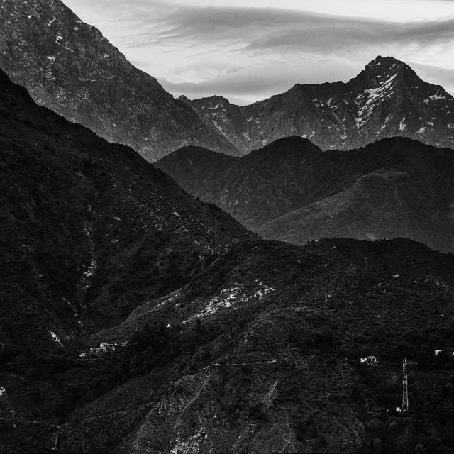 """Himalayas - Study 3"" stock image"