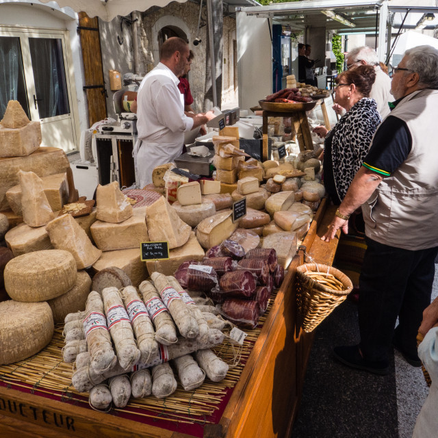 """Banon Cheese Festival, France"" stock image"