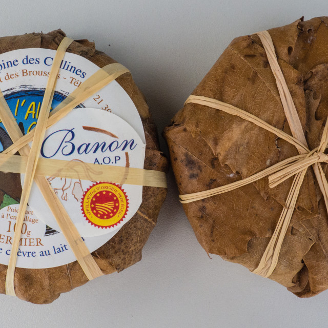 """Banon Cheese"" stock image"