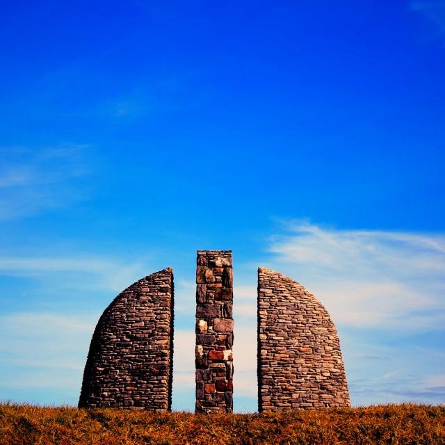 """""""Gress Raiders Memorial"""" stock image"""