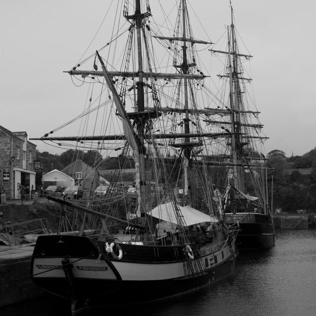 """""""Sail Ships"""" stock image"""