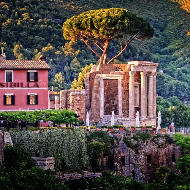 """Tivoli, Italia"" stock image"