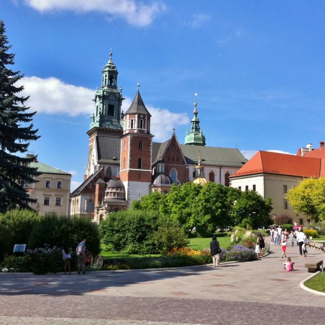 """""""Wawel Castle, Kraków"""" stock image"""