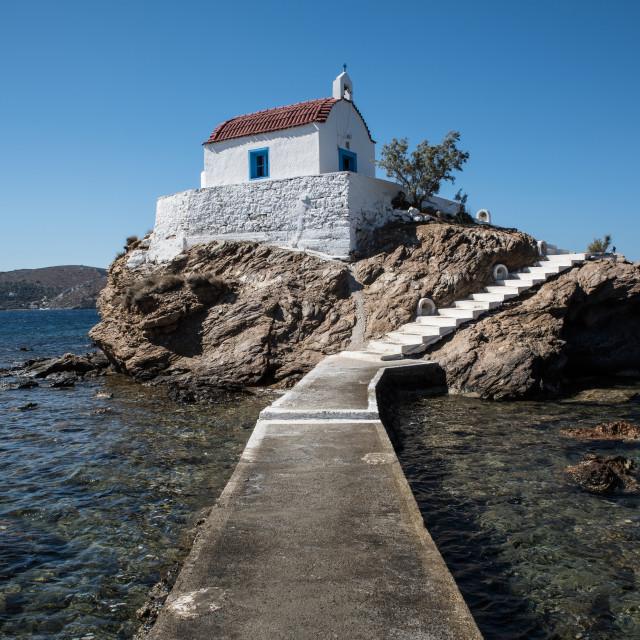 """Agios Isidoros"" stock image"