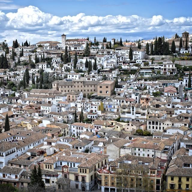 """Granada, España"" stock image"