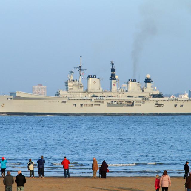 """""""HMS Invincible"""" stock image"""