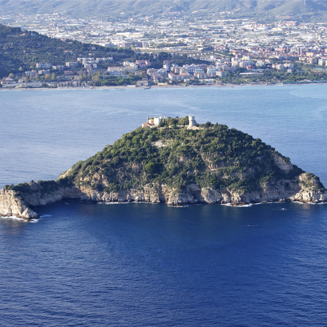 """""""isola gallinara"""" stock image"""
