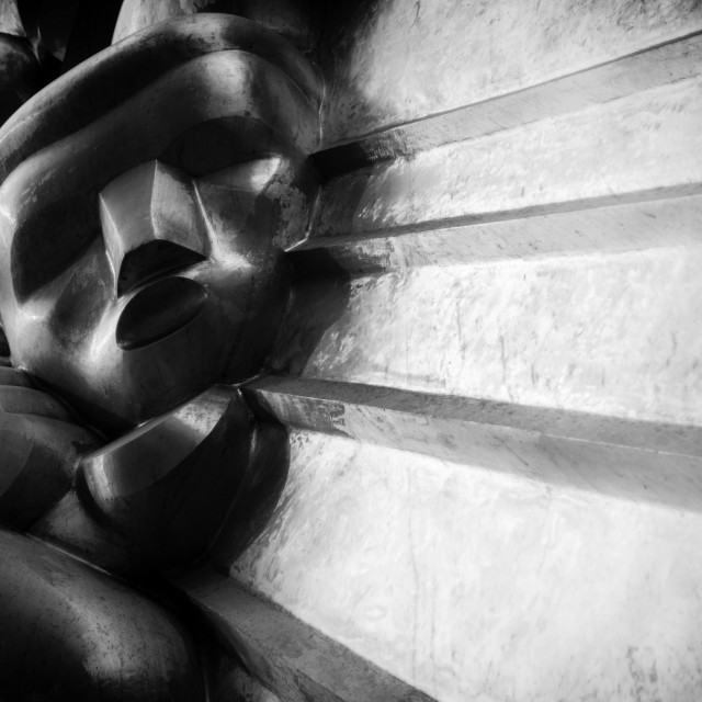 """Sculpture, New York City"" stock image"